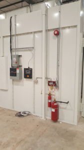 Fire protection system installed for paint booths